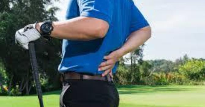 Is Golfing the Cause of My Low Back Pain? image